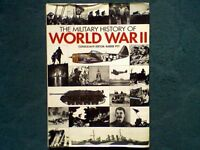 THE MILITARY HISTORY OF WORLD WAR 11 (2) - BARRIE PITT 1994 EDITION - BOOK