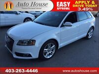 2012 AUDI A3 2.0T S-LINE TFSI AWD QUATTRO PANOROOF LOW KM