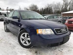 1999 Audi A6 No-Accidents 2.8 Quattro Leather Sunroof LOW KMS!!