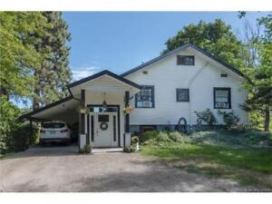 9702 Springfield Rd, Coldstream BC - Renovated Home on 8.5 Acres