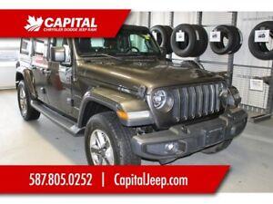 2018 Jeep Wrangler Unlimited Sahara | Leather | Heated Seats | B