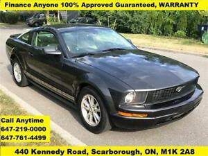 2008 Ford Mustang FINANCE 100% 3-YEARS WARRANTY. 132,756 KM