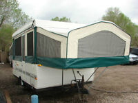 2000 Flagstaff by Forest River pop-up tent trailer