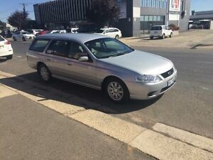2007 Ford Falcon BF Mk II Futura Silver 4 Speed Automatic Wagon Fyshwick South Canberra Preview
