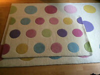 Hand tufted wool rug 3x5 ft