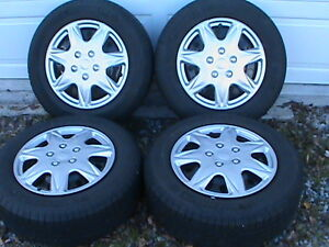 dodge journey   a set of michelin defenders