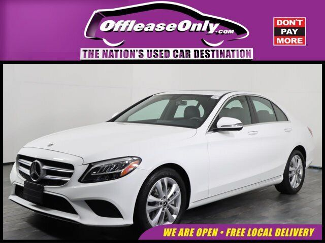 Off Lease Only 2020 Mercedes-Benz C-Class C 300 RWD Intercooled Turbo Premium Un