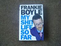 FURTHER REDUCED PRICE- FRANKIE BOYLE, 'My Sh*t Life So Far' Autobiography hardback book