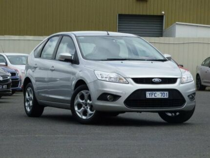 2010 Ford Focus LV LX Silver 4 Speed Sports Automatic Hatchback Diggers Rest Melton Area Preview