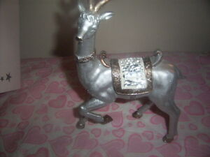 porcelain platter with figure,christmas deco deer collection. Kingston Kingston Area image 7
