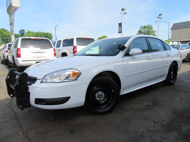 Ex Police Car Auctions >> White 9c1 Police 78k Miles Warranty Ex Fed Govt Owned Well Maintained - Used Chevrolet Impala ...