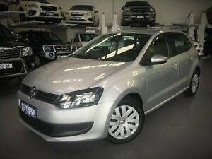 2012 Volkswagen Polo 6R MY13 77TSI DSG Comfortline Silver 7 Speed Sports Automatic Dual Clutch Cannington Canning Area Preview