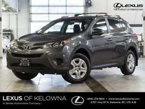 2015 Toyota Rav4 LE AWD Upgrade Package