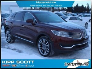 2016 Lincoln MKX Reserve AWD, Leather, Nav, Sunroof, Loaded