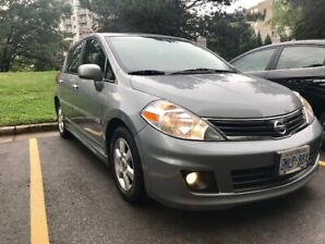 2010 NISSAN VERSA - ONLY 89.000 KM - GREAT ON GAS