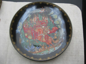 Ruslan and Ludmilla Gold Trim Mint 7948 - collector plates   xxx