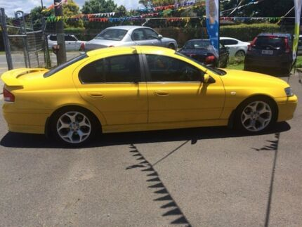 2005 Ford Falcon BA XR6 Yellow Automatic Sedan