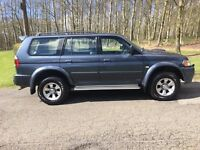 2006 Mitsubishi Shogun sport trojan Turbo diesel 4x4 very good condition