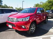 2016 Toyota Hilux GUN126R SR5 Double Cab Red 6 Speed Sports Automatic Utility Indooroopilly Brisbane South West Preview