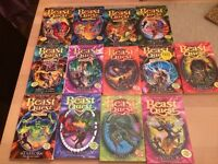 13 X Kids selection of Beast Quest Books