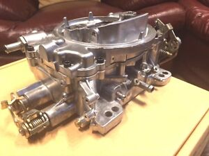 Edelbrock #1407 750 cfm carburetor (modified)