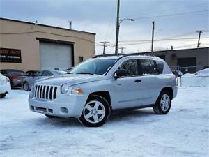 2008 Jeep Compass Sport/AUTO/4CYL/MAGS/GARANTIE 1AN INCLUSE*