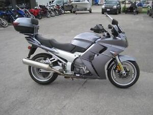 Clean Preowned 2004 Yamaha FJR1300ABS for sale *Upgrades