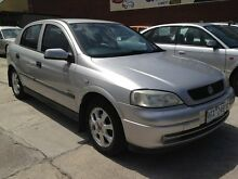 2001 Holden Astra TS Equipe Silver 5 Speed Manual Hatchback Williamstown North Hobsons Bay Area Preview