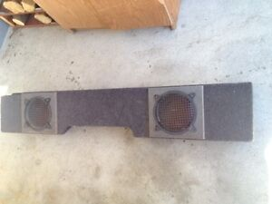 Sub Box Under Seat Dual 8in or 10in GMC or Chevy