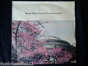 VINYL-7-SINGLE-NEVER-STOP-ECHO-THE-BUNNYMEN-KOW28