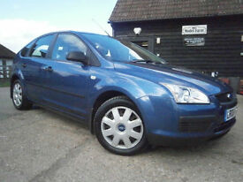 0606 FORD FOCUS 1.6i LX AUTOMATIC 5 DR SUPER LOW MILEAGE 33K FSH 11 SRVC STAMPS
