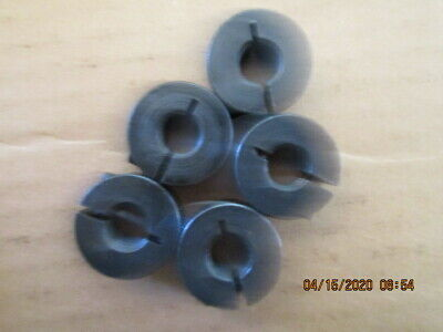 Tool 543 Lot Of Five 5 New Old Stock 38-16 Nc Steel Half Split Lock Collars
