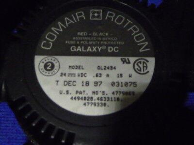 Comair Rotron Gl24b4 Fan 24vdc 15w .63a 127mm X 38.1mm