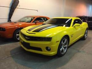 2010 Chevy Camaro SS Transformers Edition Manual, Low kms 20K!!