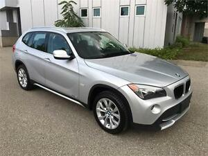 2012 BMW X1 AL WHEEL DRIVE LEATHER SUNROOF 84KM