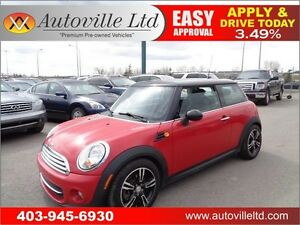 2012 MINI Cooper LEATHER PAN SUNROOF $ 12488 Everyone Approved