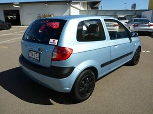 2010 Hyundai Getz TB MY09 S Blue 5 Speed Manual Hatchback Garbutt Townsville City Preview
