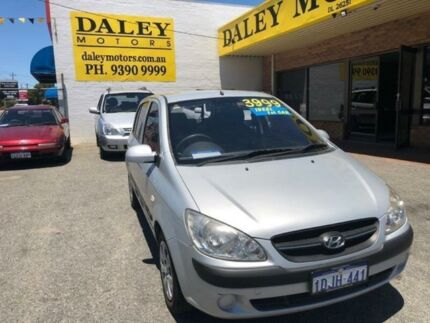 2010 Hyundai Getz TB MY09 S Silver 5 Speed Manual Hatchback Armadale Armadale Area Preview