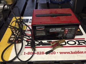 Century 6/12 volt battery charger