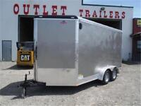 7 x 14 Cargo Trailer w/3 ft Wedge **OUT THE DOOR PRICES**