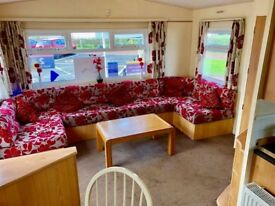 STUNNING STATIC CARAVAN AT A PRICE NOT TO MISS WHITLEY BAY HOLIDAY PARK SITE FEES INCL DG/GCH