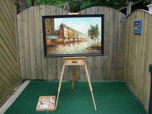 Artists' Paint kit with stand some paint Sarnia Sarnia Area image 2
