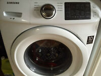 Samsung 4.8 Cu.Ft. White Front-Load Washer