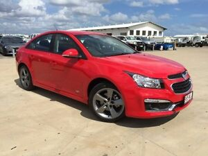 2016 Holden Cruze JH Series II MY16 SRI Z-Series Red Hot 6 Speed Sports Automatic Sedan Garbutt Townsville City Preview
