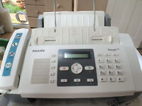 Phillips Feature Rich Telephone, Unused, Hands-Free, Copier, SMS, Inkjet Fax