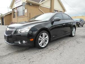 2014 Chevrolet Cruze  RS 1.4L Turbo Leather Navi Sunroof 40,000K