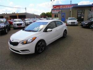 2014 KIA FORTE SX LEATHER SUNROOF NAVIGATION CAMERA LOADED