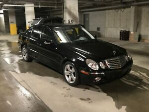 2008 MERCEDES E300 4MATIC ONLY 109,000km! FANTASTIC CAR