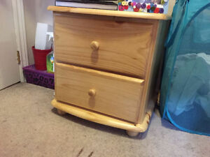 Kitchener Waterloo - Pine Night Table - $55 or Offer