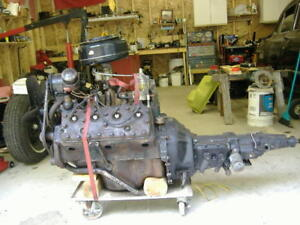 239 cu in flathead motor with overdrive